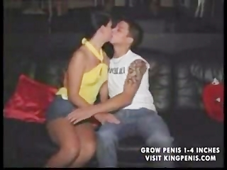 Young Euro Couple Fuck (in public/club)