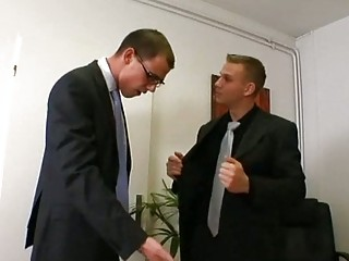 gay boss acquires turned on by awesome employee