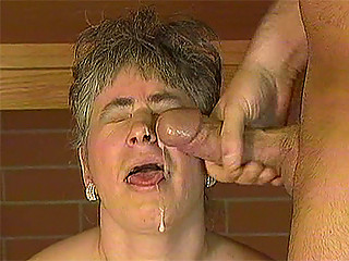 naughty elderly lady drilles