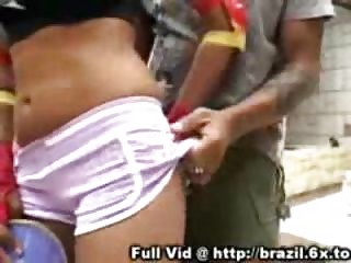 brazilian cock sucking outside