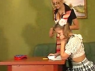naughty homosexual woman ladies teach young