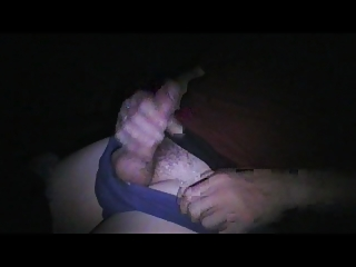 jerkoff and white cream when watching sex