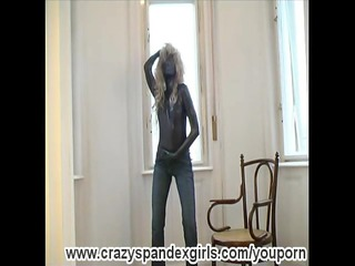 sophie into fullbody spandex (movie)
