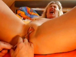german needle punch of fresh bdsm slavegirl