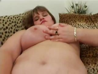 bbw lady enjoys with her slut