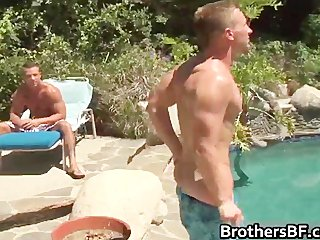 Brothers hot boyfriend gets cock sucked part4