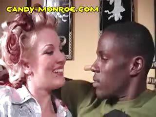 albino deepthroating dark dick