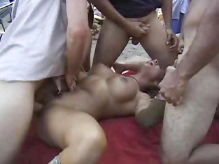 military fuckers gangbang jasmine st claire