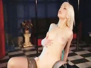 pretty blonde english slut