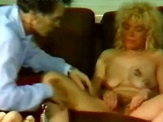 naughty maiden gangbangs herself with a sex toy