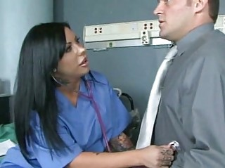 horny doctor tries sexual healing