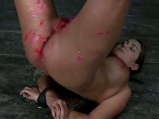 hot super babe into bondage deed