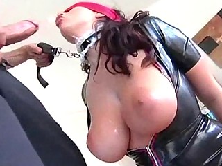 latex bondage queen is in rooty porn