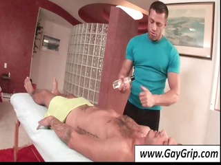 my hunky masseur slowly made his way to my groin