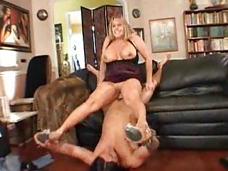 giant boobed woman is glad her lover came house