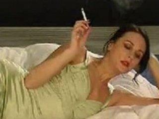smoking like with nylons