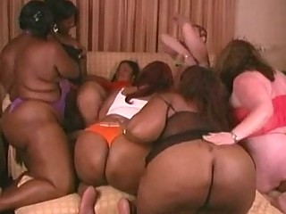 2 tons of pleasure  bbw group sex