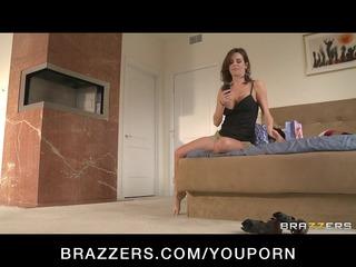 naughty bigtit brunette milf copulates huge dick