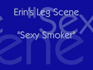 smoking fetish-erin