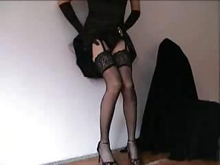 tempting crossdresser into hot panties is at your