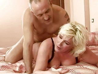 horny plump grandma obtains banged uneasy