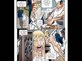naughty bleached sexual bondage comic cartoon