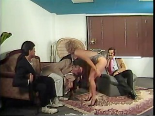 blond karen summer in an group sex takes busy