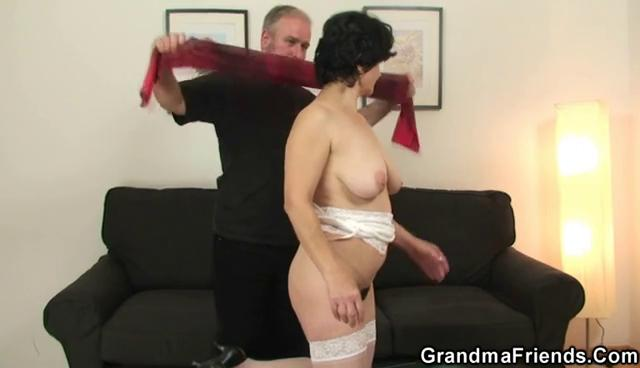 granny amp acquires two dicks after kitty playing