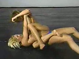 fitness models topless wrestling classic part 2