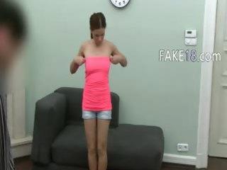 20yo girl having sexing on fake audition