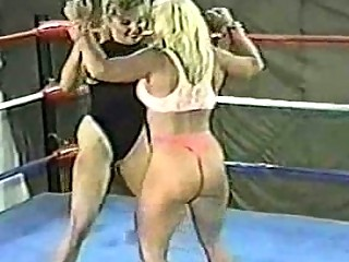 woman wrestling sally vs charlie