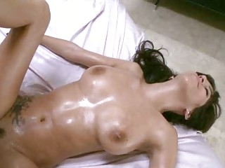 horny chick bends over