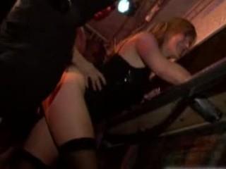 tough porn gathering inside bar