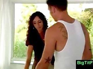 boss woman hass big boobs