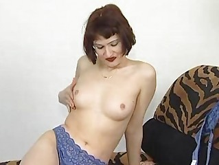 mature german chick solo