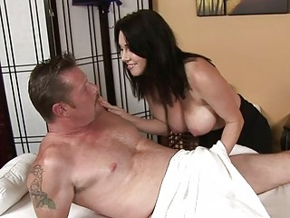 horny masseuse goes all the way