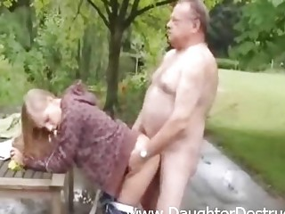 beautiful babe banged by granny nasty boy