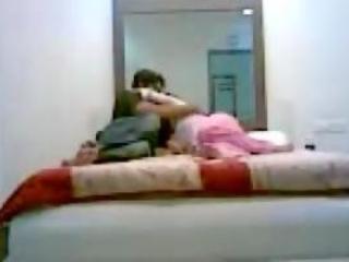 indian duo fuck into bedroom hidden cam scandal