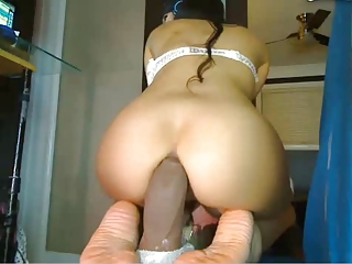 large ass rubber