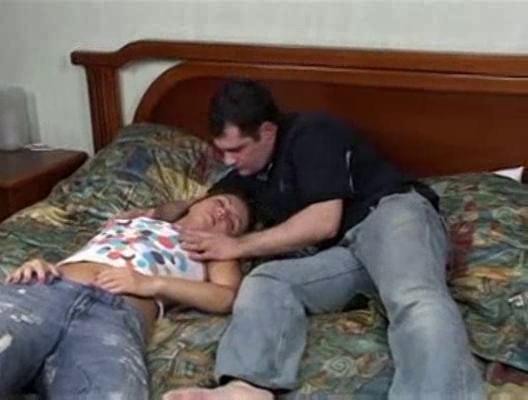 sleeping teenage uneasy  copulate