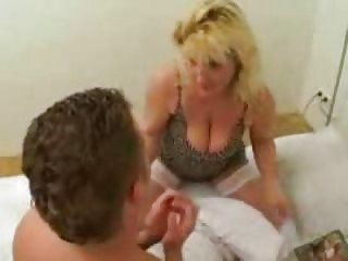 enormously busty mother caught her son reading sex