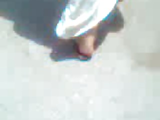 arabic older  with pretty sandals