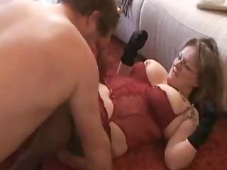 fat and slutty fresh wife sucks and bangs