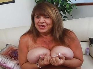 older  momma with jumbo gigantic bosom sticks sex