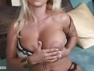 holly halston super  huge boobs