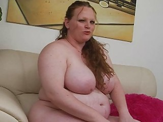 bleached giant ginger momma uses her fresh fuck