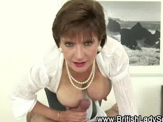 girl sandy jerks off oily dick