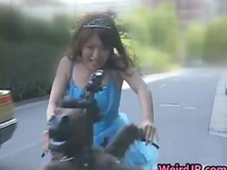 anri hiramatsu asian lady drives part2