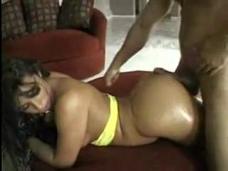 large ass massage and driving penis