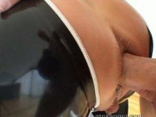 latex ass cream